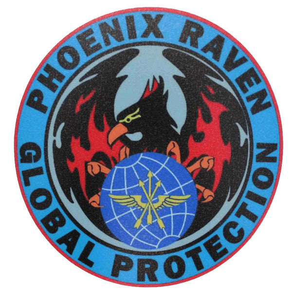 Phoenix Raven Decal Sticker/Decal Morale Patch® Armory