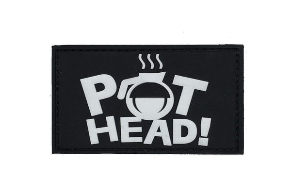 Pot Head PVC Patch Morale Patch® Armory