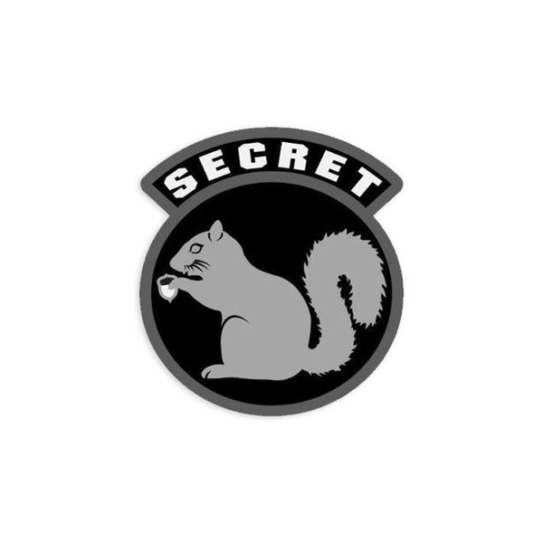 Secret Squirrel Decal Sticker/Decal Morale Patch® Armory