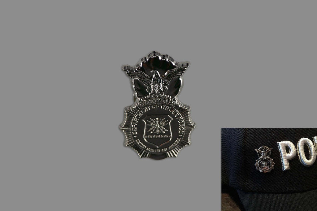 Security Forces Badge Pin