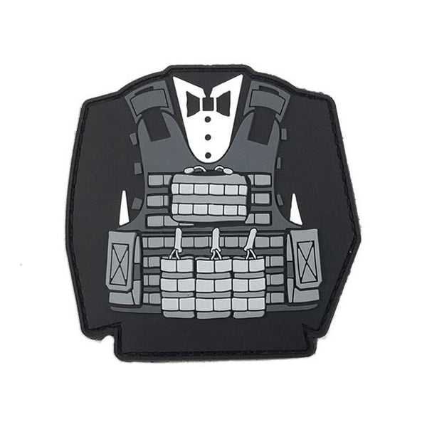 Tactical Tux PVC Patch Morale Patch® Armory