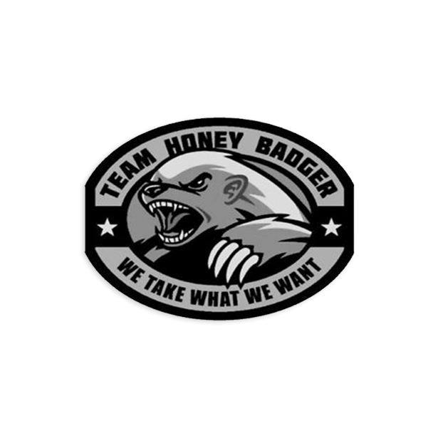 Honey Badger Decal Sticker/Decal Morale Patch® Armory Swat