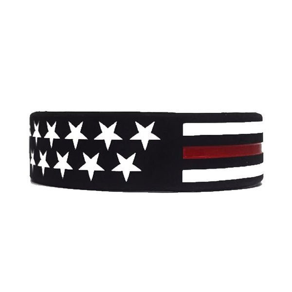 Thin RED Line American Flag Bracelet Bracelet Morale Patch® Armory 1 Thin Red Line