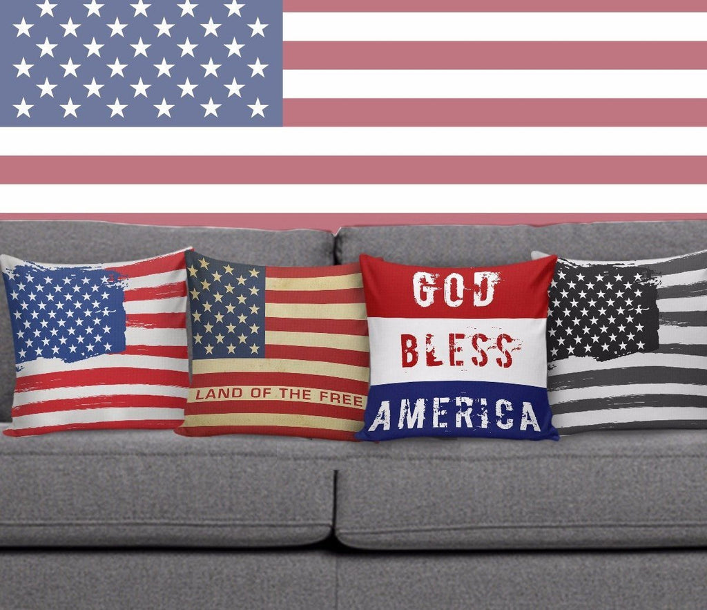 Old Glory Pillow Covers Patriot Pillow Case Morale Patch® Armory Freedom Bundle