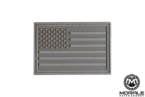 Subdued American Flag PVC Patch Morale Patch® Armory