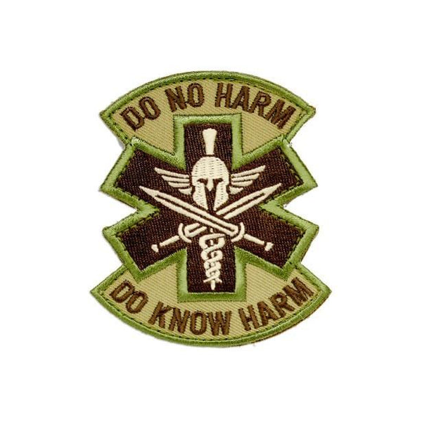Do No Harm Do Know Harm Embroidered Patch Morale Patch® Armory