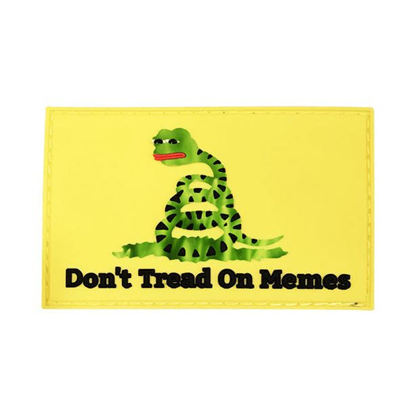 Don't Tread On Memes PVC Patch Morale Patch® Armory
