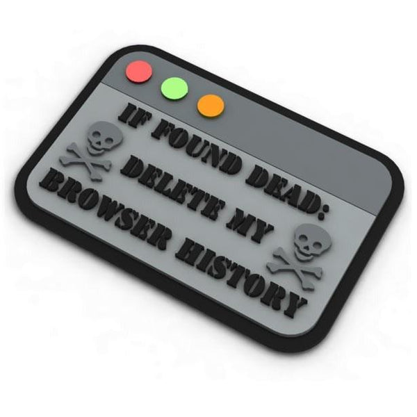 If Found Dead PVC Patch Morale Patch® Armory
