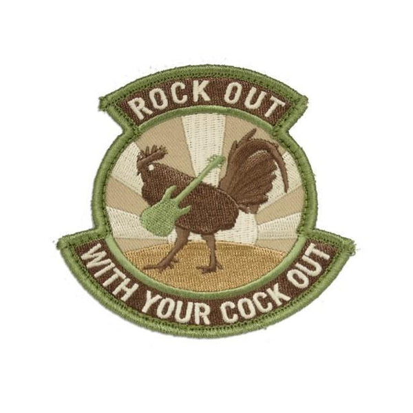 Rock Out With Your Embroidered Patch Morale Patch® Armory Multicam