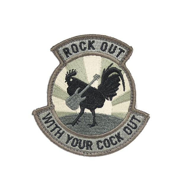 Rock Out With Your Cockout Morale Patch
