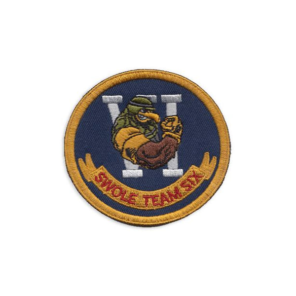 Swole Team Six Embroidered Patch Morale Patch® Armory