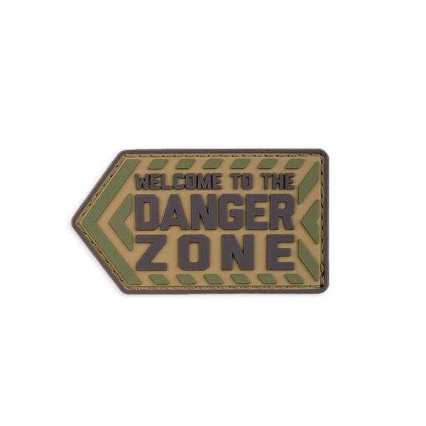 Welcome To The Danger Zone PVC Patch Morale Patch® Armory