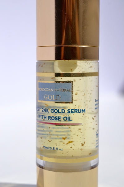 Finest 24K Gold Serum with Rose Oil