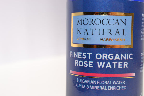 LIMITED EDITION Finest Organic Bulgarian Rose Water Alpha3 Mineral Enriched - 100ml