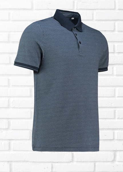 PEEBLES TEXTURED POLO