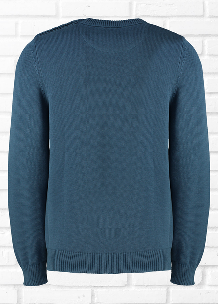 CARTER PLAIN JUMPER - BLUE