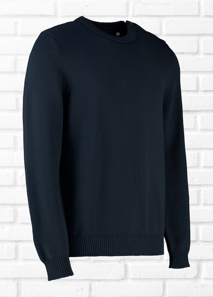 CARTER PLAIN JUMPER - NAVY