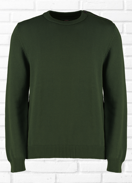 CARTER PLAIN JUMPER - KHAKI