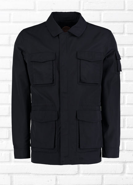 COMMON PEOPLE 4 POCKET JACKET - NAVY
