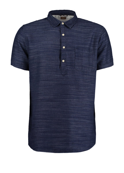 SPIRIT OVER HEAD POLO SHIRT - NAVY