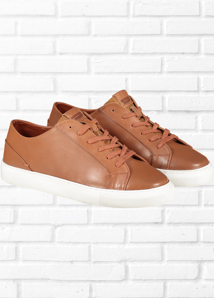 TAN TRAINERS