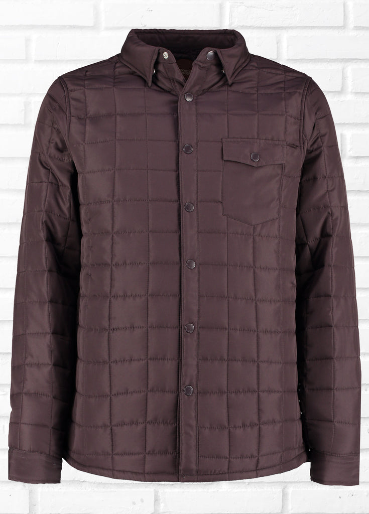 NICK BURG QUILTED SHACKET