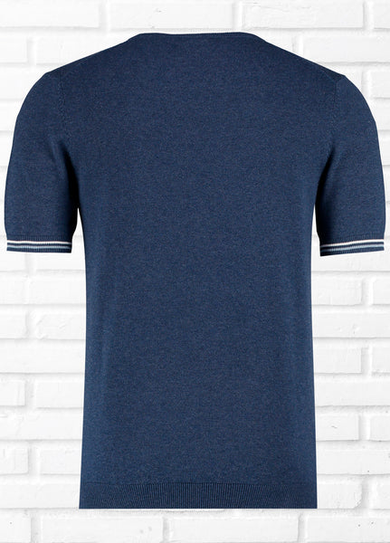 MADRID SS PLAIN KNIT TEE