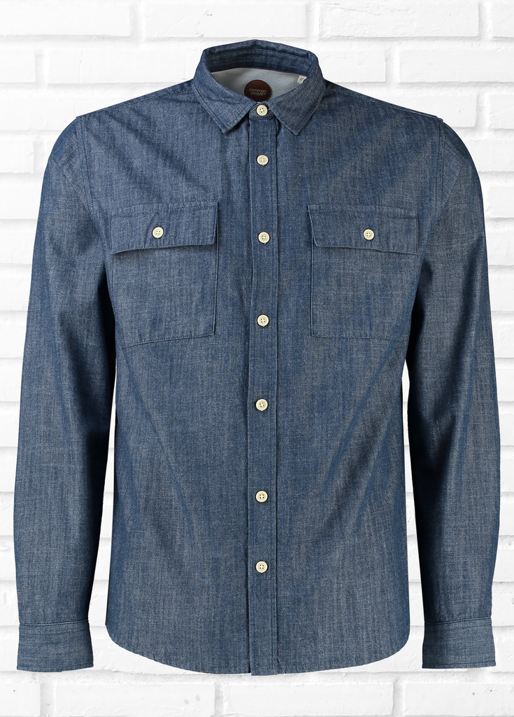 Park Long Sleeve Denim Shirt