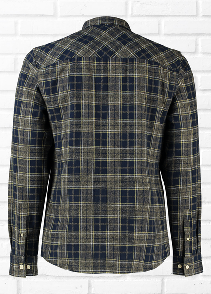 Hawkin Long Sleeve Check Shirt