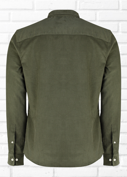 Inter Long Sleeve cord shirt