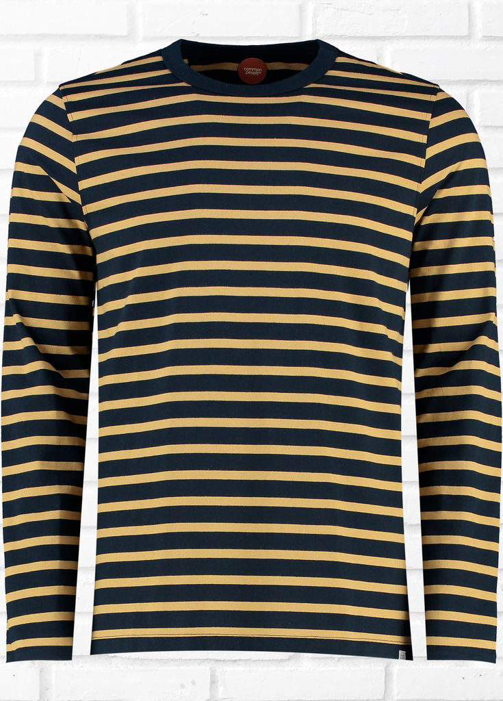 Lyon Long Sleeve Stripe Tee
