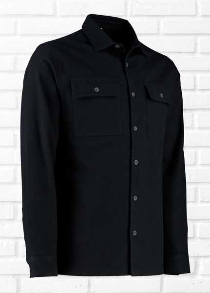 Foreman Black Overshirt
