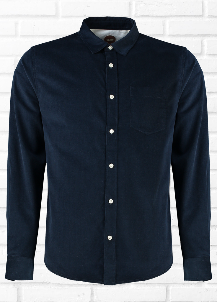 Drive Long Sleeve cord shirt