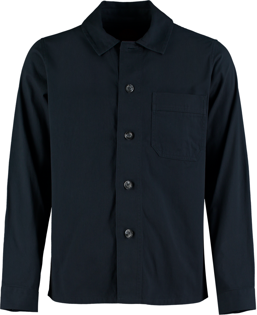 SMITH NAVY OVERSHIRT