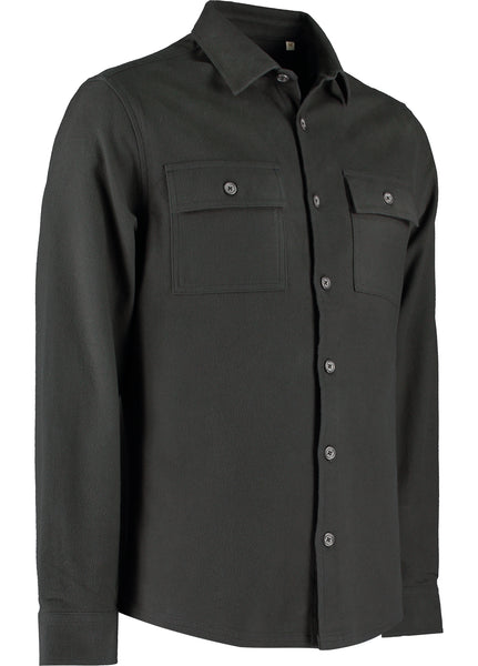 MARCHER OVERSHIRT - CHOCOLATE