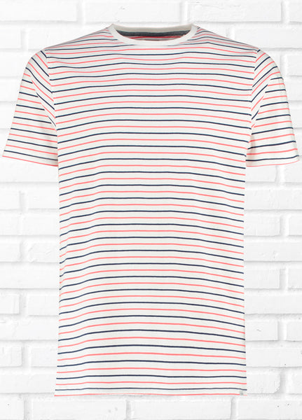 SUFFOLK CONTRAST STRIPE TEE