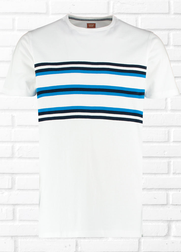 MINSTER CHEST STRIPE TEE