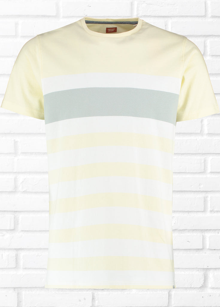 BRIGHTON BLOCK STRIPE TEE