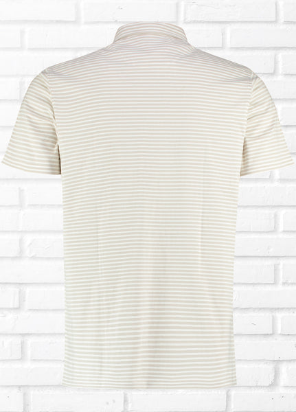 BOJO STRIPE STONE POLO