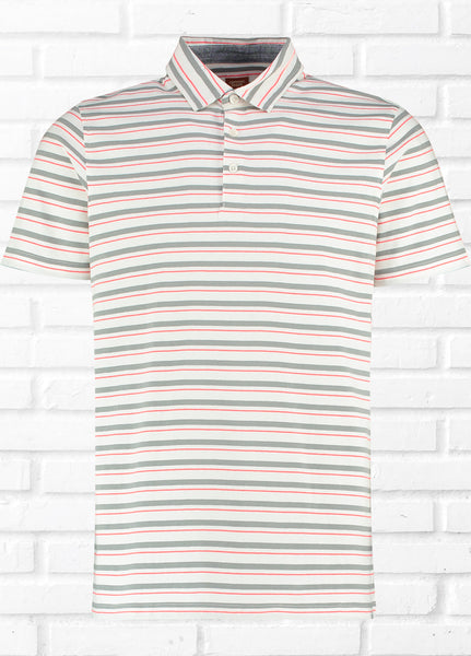SEASALTER CONTRAST STRIPE POLO