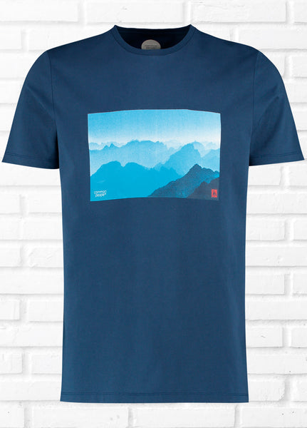 MOUNTAIN BEACH PRINT TEE