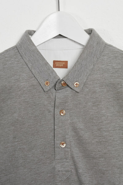 POWELL SHORT SLEEVE POLO SHIRT - KHAKI