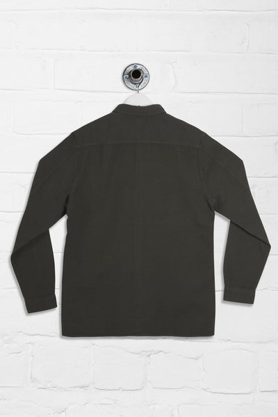WONDER LONG SLEEVE OVER SHIRT - KHAKI