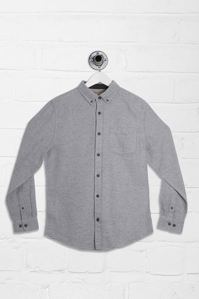 LONG SLEEVE GROUND SHIRT - GREY