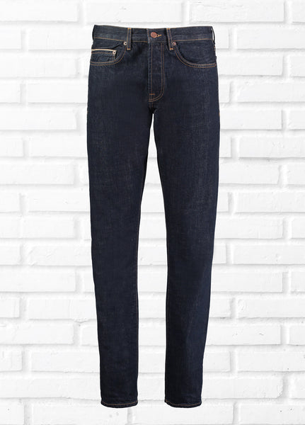 5 POCKET COTTON JEANS - DARK BLUE