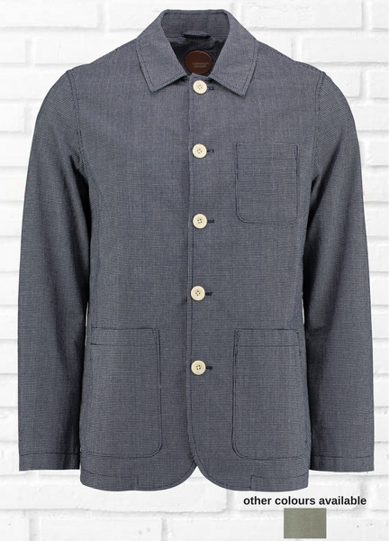 GANZA MINI GRID CHECK BLAZER