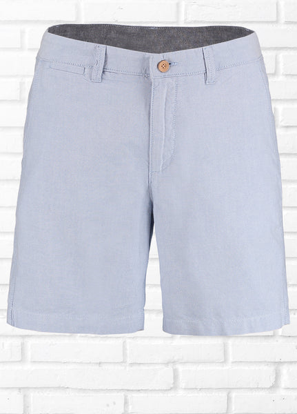 HARROW OXFORD PLAIN SHORTS - BLUE