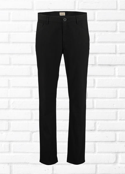 HARRY 5 POCKET TROUSER - BLACK