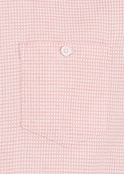 MITCHELL TEXTURED DOBBY SHIRT - PEACH