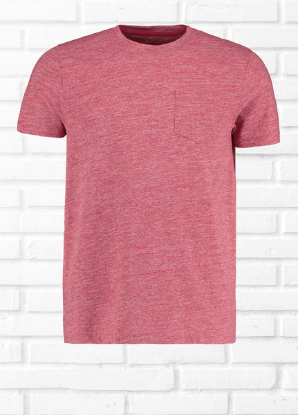 NANO SPACE DYE TEE SHIRT - RED